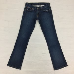 Lucky Brand Low Rise Boot Cut Denim Blue Jeans